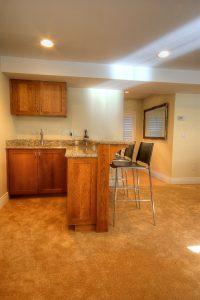 Modern Basement Remodel interior_Basement Remodel_Wet Bar | Renovation Design Group