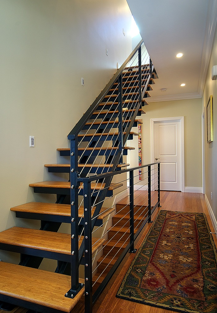 After_Interior_Staircase_Second-Story-Bungalow-Addition | Renovation Design Group
