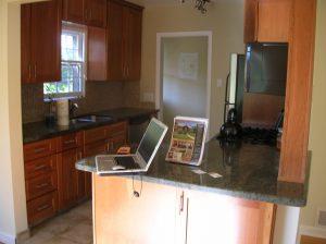 before modern kitchen remodel | Renovation Design Group