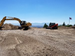 Site of new construction, excavation | Renovation Design Group
