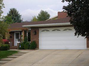 Rambler Garage Before Before garage remodel   Renovation Design Group