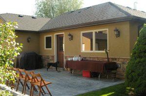Back porch Cottage Home Cottage Bathroom Cottage Master Bath Bathroom Shower Tiled Cottage Home | Renovation Design Group
