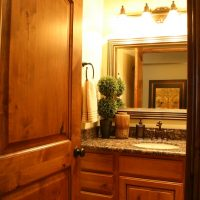 Cottage Bathroom Door Bathroom Shower Tiled Cottage Home | Renovation Design Group