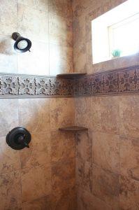 Bathroom Shower Tiled Cottage Home | Renovation Design Group