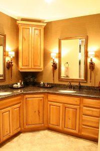 Cottage Master Bath Bathroom Shower Tiled Cottage Home | Renovation Design Group