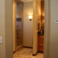 Cottage Bathroom Bathroom Shower Tiled Cottage Home | Renovation Design Group