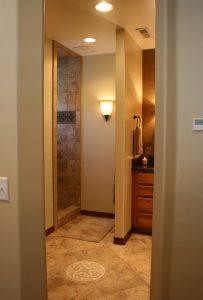 Cottage Bathroom Bathroom Shower Tiled Cottage Home | Renovation Design Group