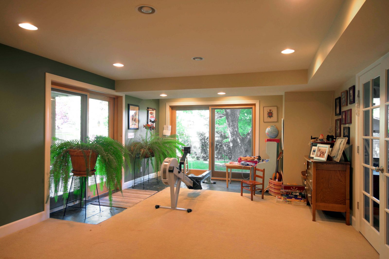 After_Interior Design_Exercise Room_Rambler Addition | Renovation Design Group