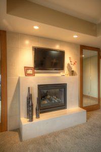 Master Bedroom, MAster Suite, Bedroom Firplace designs, Contemporary, Modern | Renovation Design Group