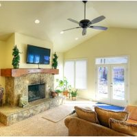 1800 East Cape Interior Family Room Fireplace | Renovation Design Group