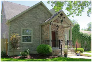 1800 East Cape Exterior Front Porch Remodel | Renovation Design Group