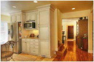 1800 East Cape Interior Kitchen cottage Remodel by Renovation Design Group