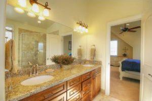 1800 East Cape Interior Bathroom Remodel by Renovation Design Group