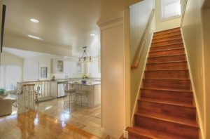 1800 East Cape Interior Staircase by Renovation Design Group