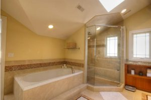 Master Bathroom Attic Addition   Renovation Design Group