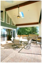 Front Porch Bungalow Contemporary Exterior Bungalow Addition | Renovation Design Group