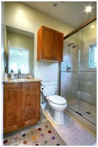 Upscale Contemporary Bathroom | Renovation Design Group