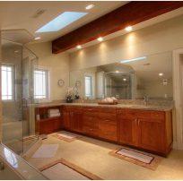 Upscale Contemporary Bathroom | Renovation Design Group