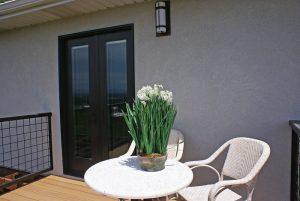 Salt Lake City Utah home remodel. Beautiful contemporary home back porch | Renovation Design Group