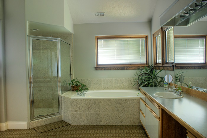Salt Lake City Utah contemporary home Master Bathroom | Renovation Design Group