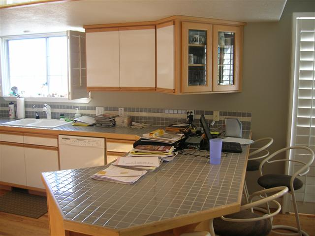 Before Interior Remodel Kitchen Update Home Utah | Renovation Design Group