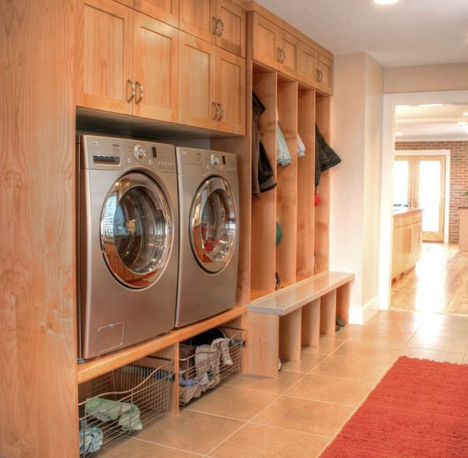 Laundry Laundry, Mudroom, & Home Office | Renovation Design Group