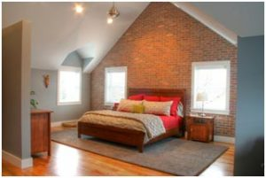 Master Bedroom in Attic | Renovation Design Group