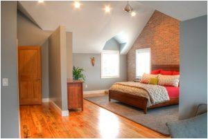 Cape Home Master Bedroom in Attic Master Bedroom in Attic | Renovation Design Group