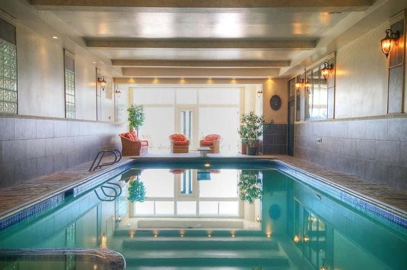 Indoor Outdoor pool, Swiming, Swimming Pool, Indoor Pools, pool house | Renovation Design Group
