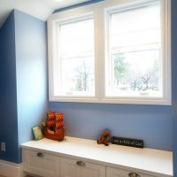 Boys Room Window Seat Attic | Renovation Design Group