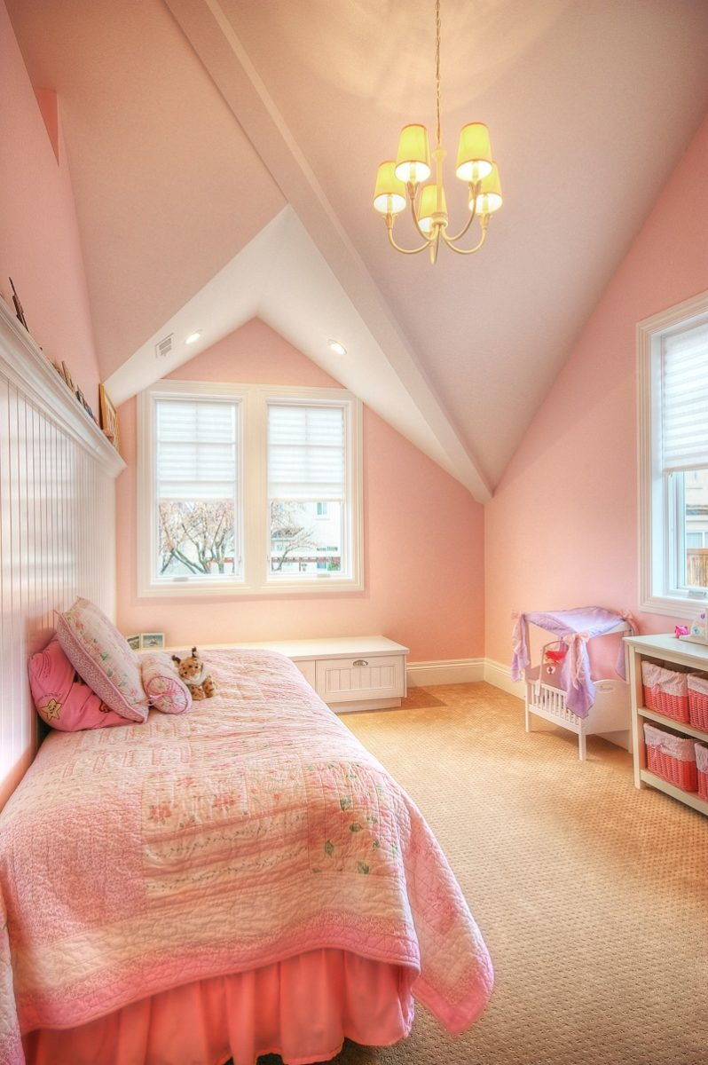 Girls Room in Cape Attic | Renovation Design Group