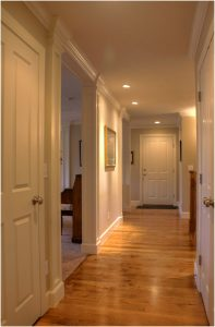 Hallway wood flooring Ranch Remodel Interior | Renovaiton Design Group