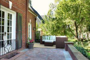 After Exterior Home Remodel Back Patio | Renovation Design Group