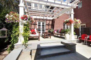 After Exterior Renovation Back porch Remodel Fedarlist Home | Renovation Design Group