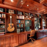 After Interior Design Music Room Addition | Renovation Design Group