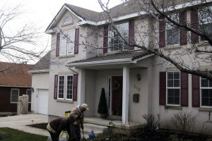 Before Home Exterior Adding Curb Appeal to your home Home Exterior | Renovation Design Group