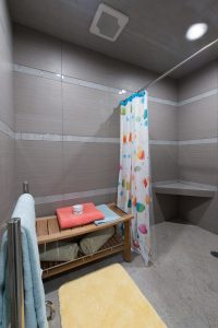 HAndicapped Access Pool houe indoor pool bathroom changing room Finding More Space Without an Addition | Renovation Design Group