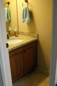 Before Small Bathroom remodel Finding More Space without an Addition Article | Renovation Design Group
