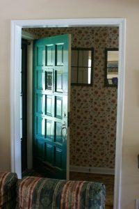 BEfore Front Entry Remodel How to Design a Comfortable Home for Guests article | Renovation Design Group
