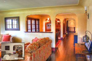 Living Room Remodel Dining Room Great Room Tuscan | Renovation Design Group