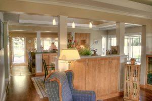 Tudor Interior remodel great room dining room kitchen   Renovation Design Group