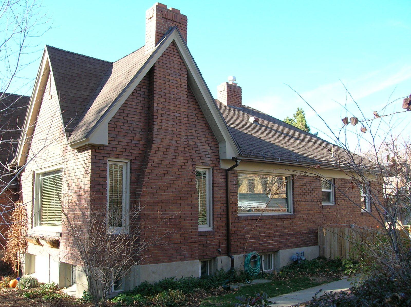 Before, Exterior, Tudor, Second Story Addition, brick Tudor, Brick Exteriors | Renovation Design Group
