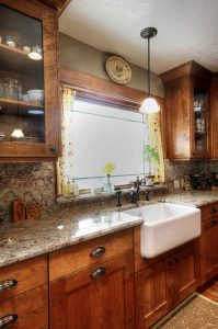 Kitchen Remodel farm sink | Renovation Design Group