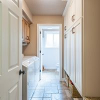 After laundry mudroom in a split level remodel salt lake city utah | Renovation Design Group