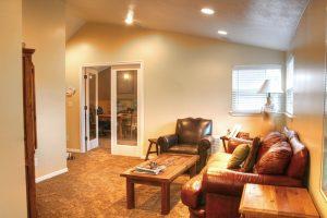 After Interior Remodel Den Home Office hidden Valley Remodel | Renovation Design Group