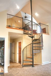 After Interior Remodel Spiral Staircase hidden Valley Remodel | Renovation Design Group