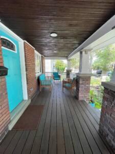 Bungalow Porch and Landscape Ideas