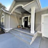 Rambler Stucco Porch