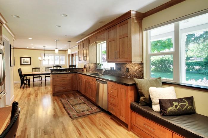 After_Interior_Kitchen_Open Kitchen_WIndow Seats | Renovation Design Group