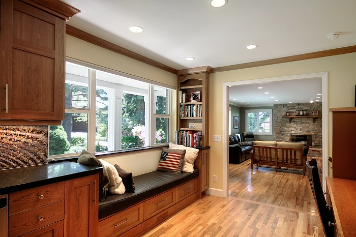 After_Interior_Window Seats_Rambler Kitchens | Renovation Design Group